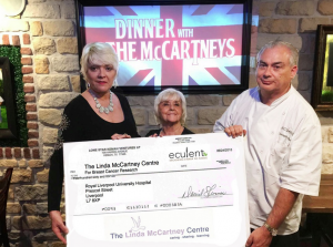 Dinner with the McCartneys