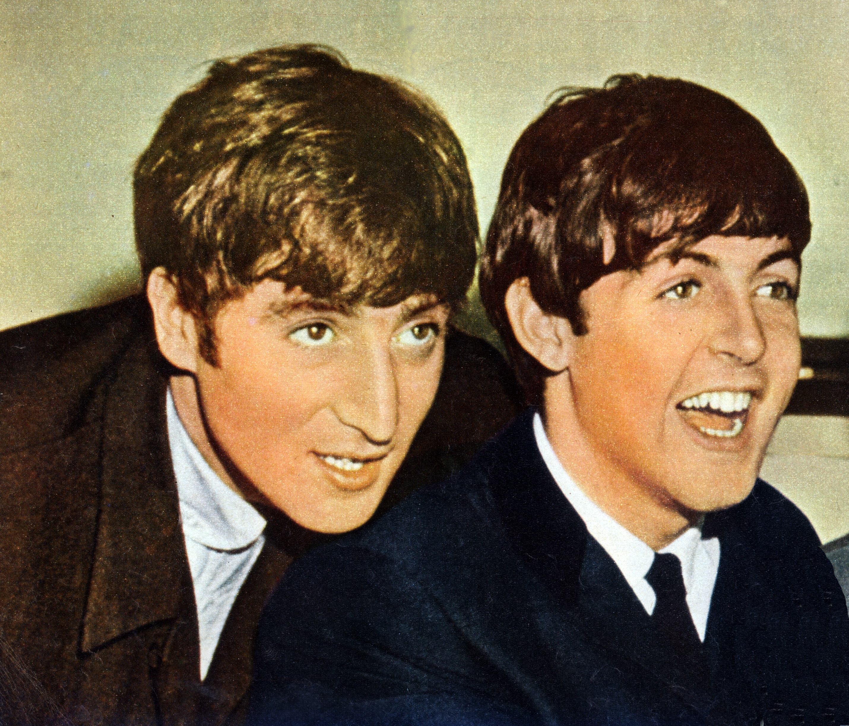 Before They Were Worldwide Sensations The Beatles Traveled Between Gigs At Dive Bars In Hamburg Germany A Rattling Old Van With Broken Window