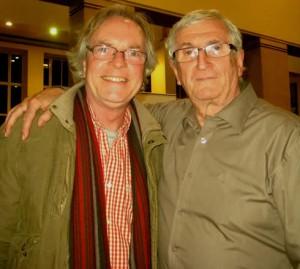 Richard Oliff with Billy Hatton