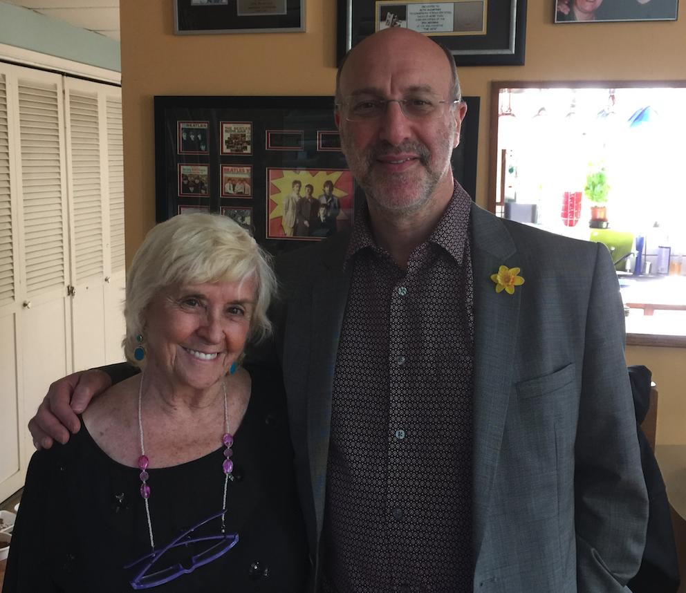 Angie McCartney and Mark Lewisohn