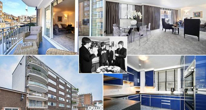 Ringo Starr and George Harrison's former flat up for rent   Daily Mail Online