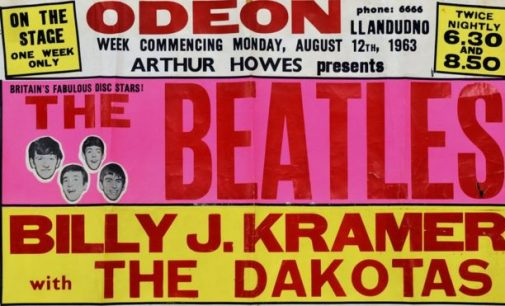 Mary Hopkin's Beatles poster sells for £28k at auction – BBC News