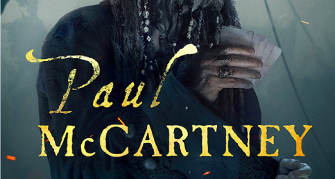 See How Paul McCartney Looks in His 'Pirates of the Caribbean' Costume