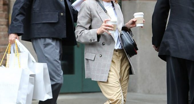 Stella McCartney, 45, is clad in casual in NYC | Daily Mail Online