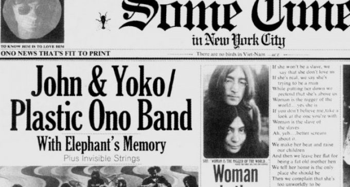 45 Years Ago: John Lennon Goes Off the Deep End on 'Some Time in New York City'