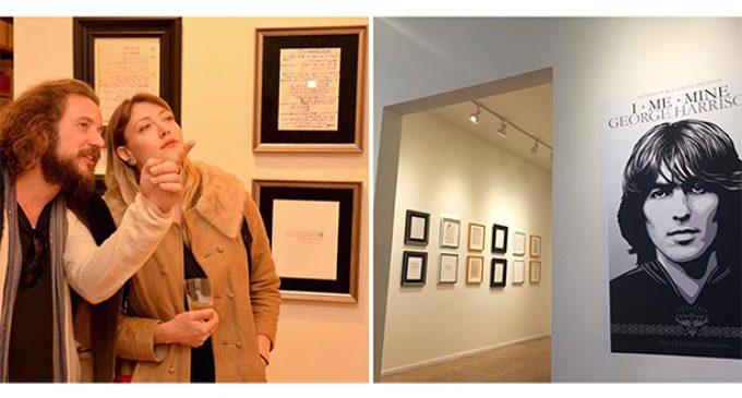 GEORGE HARRISON – I ME MINE – LYRICS & WRITINGS Pop Up Exhibition – Beatles in London Blog