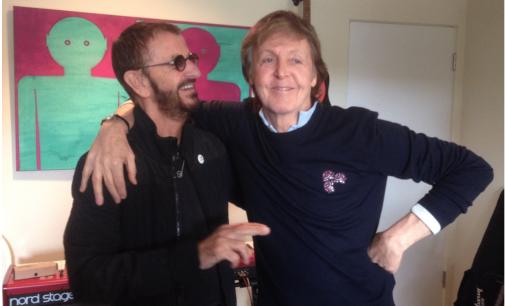Ringo Starr's New Album Features Paul McCartney, Peter Frampton, Edgar Winter, And More [Single]