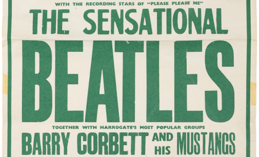 Rare poster advertising Beatles concert in Harrogate attracts huge interest at Tennants Auctioneers (From The Northern Echo)