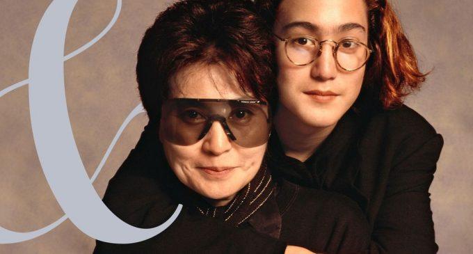 Yoko Ono and Sean Lennon Interview – Yoko Ono Poses With Sean Lennon