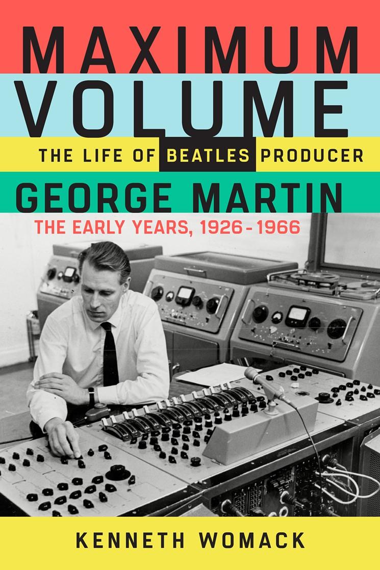 Monmouth University Beatles professor publishes George Martin bio