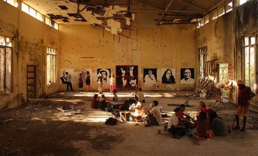The legendary musicians — John Lennon, Paul McCartney, George Harrison and Ringo Starr — stayed in the ashram