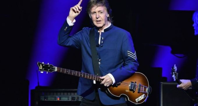 Sir Paul McCartney's gift to Manchester attack families – BBC News