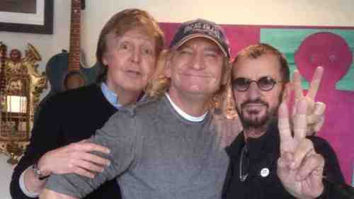 Paul McCartney, Ringo Starr And Joe Walsh In Studio Together 2017 In Review