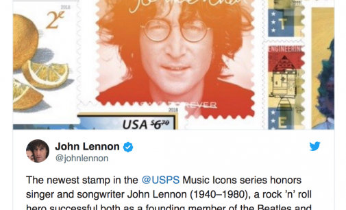 John Lennon Stamp Added To USPS Music Icons Series