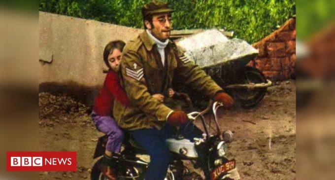 Lennon's motorcycle sale breaks record