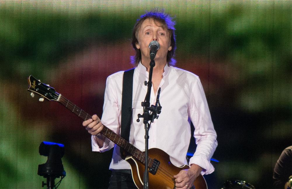 Sir Paul McCartney lends Beatles track to NHS charity single
