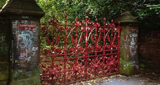 Beatles Fans Can Buy Parts of Strawberry Field