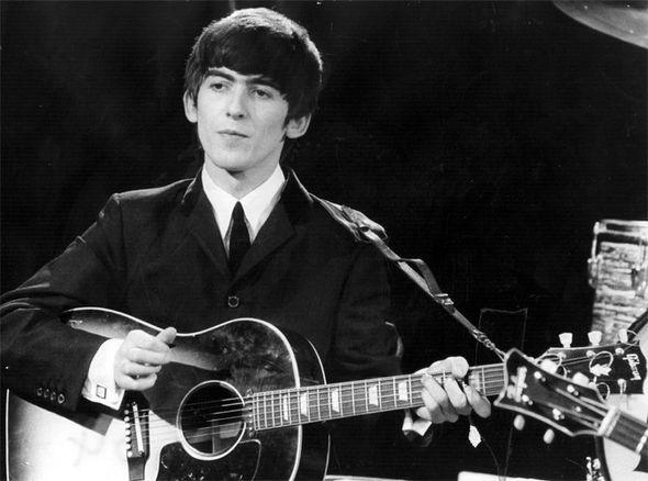 george harrison on guitar