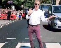 Paul McCartney Returns to Abbey Road Studios to Play New Songs for Fans, Walk the Famous Crosswalk | Billboard