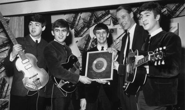 the beatles and george martin