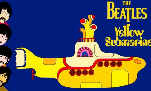 Beatles' YELLOW SUBMARINE With Sing-A-Long Titles Screens In Jaffrey