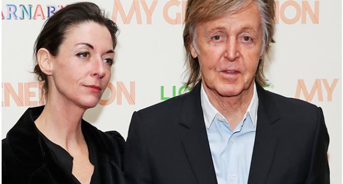 Paul McCartney celebrates daughter's book at VIP dinner