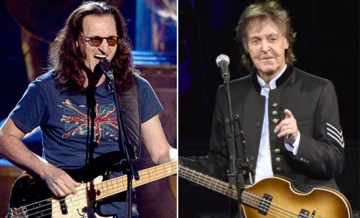 Rush's Geddy Lee Reveals How He Was Influenced By Paul McCartney from The Beatles