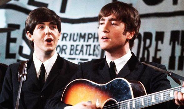 paul and john in 1960s