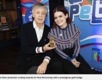 Sir Paul McCartney awarded prestigious gold Blue Peter badge – Manchester Evening News