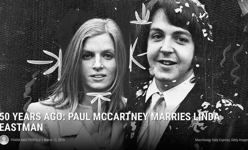 50 Years Ago: Paul McCartney Marries Linda Eastman