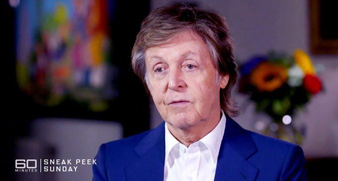 Paul McCartney on CBS 60 minutes E37 tonight!
