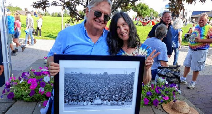 Whately photographer visits Woodstock site on music fest's 50th anniversary
