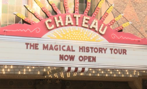 Beatles exhibit opening at the Chateau Theatre