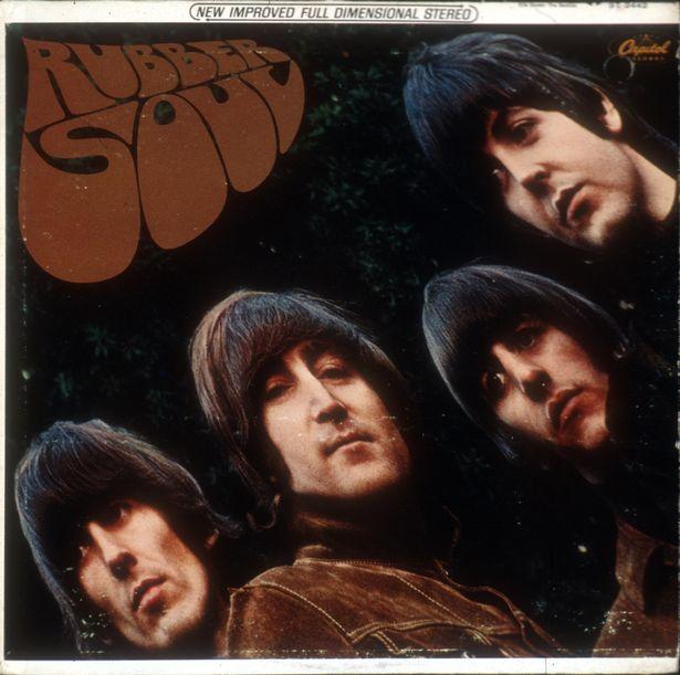 Photo of Beatles Rubber Soul album