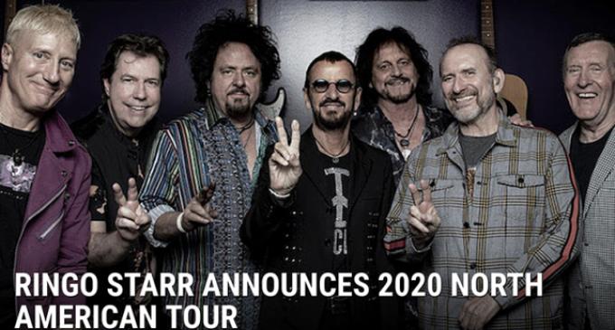 Ringo Starr Announces 2020 North American Tour