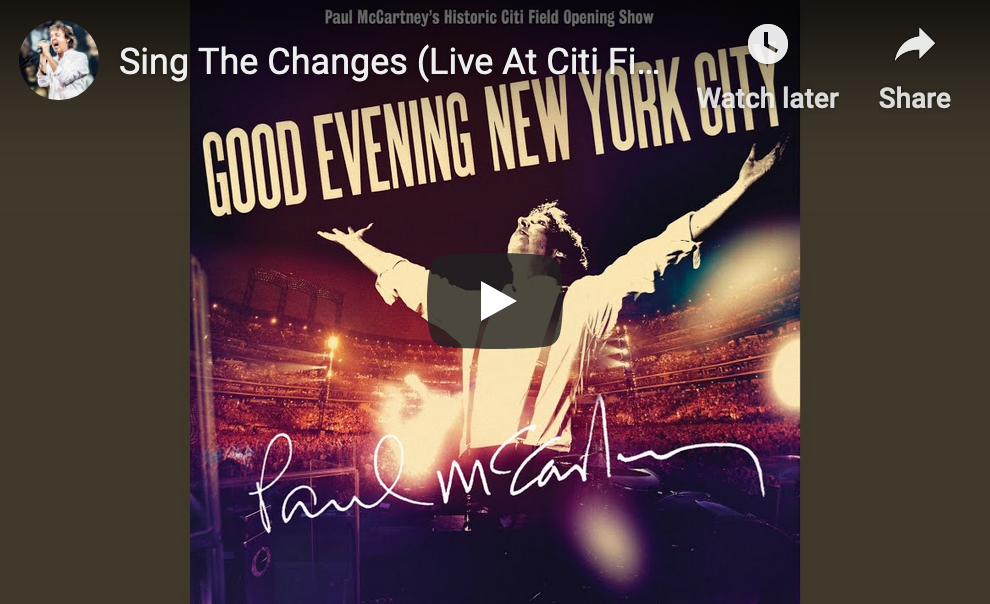 Paul McCartney's 'Good Evening New York City' Was Unexpectedly Relevant