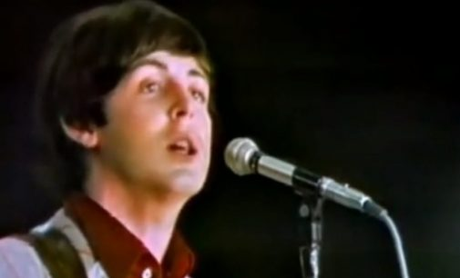 Paul McCartney sings 'I Saw Her Standing There' at Jersey City's Hudson House (WATCH VIDEO) – NJArts.netNJArts.net