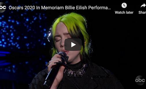 Billie Eilish & Finneas' 2020 Oscars Performance Of Beatles' 'Yesterday': Watch | Billboard