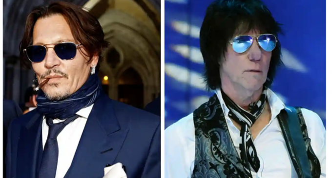 Johnny Depp and Jeff Beck announce album with cover of John Lennon's Isolation   Music   The Guardian