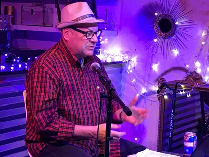 Denny Somach, at The Living Room in Ardmore, talks about Billy Joel's famed shows at The Roxy Theater in Northampton