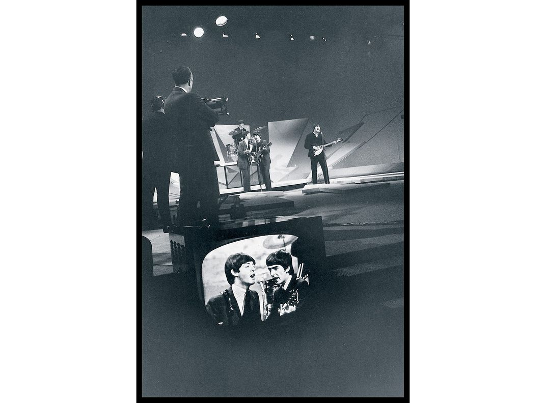 "A rehearsal for ""Ed Sullivan"""