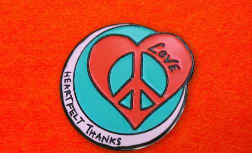 #PinYourThanks: Keira Knightley and Ringo Starr design badges for people to give to 'helpers' during coronavirus | The Independent