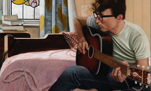 Eric Cash – John Lennon in his living room in Mendips