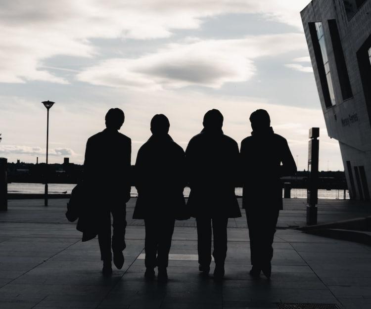 The Beatles Walking (Statue)