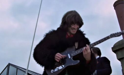 Harrison's guitar on The Beatles' Don't Let Me Down