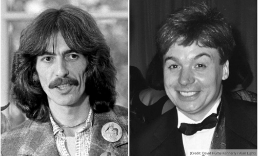 George Harrison's final letter was sent to Mike Myers