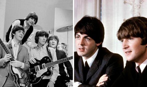Why is John Lennon first in Lennon-McCartney songwriting partnership?
