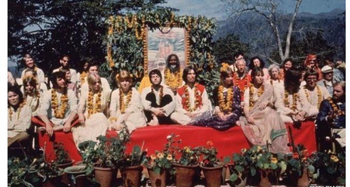 When a 'heartbroken' backpacker met The Beatles in India
