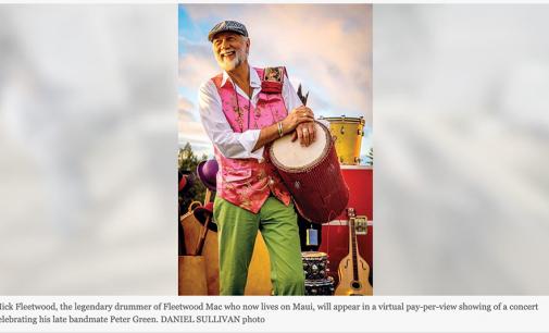 Mick Fleetwood pays tribute to late bandmate   News, Sports, Jobs – Maui News