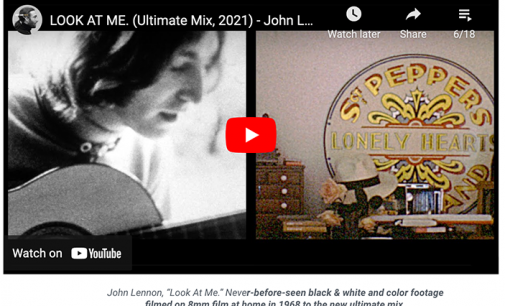 """Unearthed John & Yoko Footage Wed to New Ultimate Mix of """"Look at Me"""" – American Songwriter"""